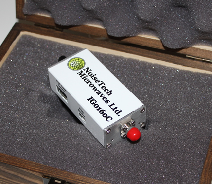 Photo shows NoiseTech's impedance generator (IG0160C)